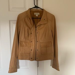 Women's leather lucky brand jacket